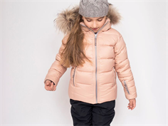 Ver de Terre down winter jacket mahogany rose